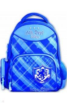 Рюкзак школьный полиэстер 36x29x13 Шотландка и герб (36372)