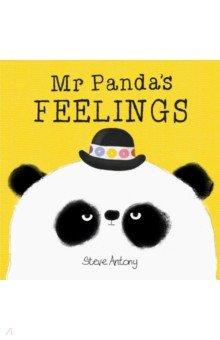 Купить Mr Panda's Feelings, Hodder, Первые книги малыша на английском языке