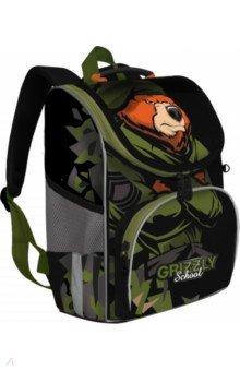 Купить Ранец школьный с мешком, для мальчика (RAm-185-3), Grizzly, Ранцы и рюкзаки для начальной школы