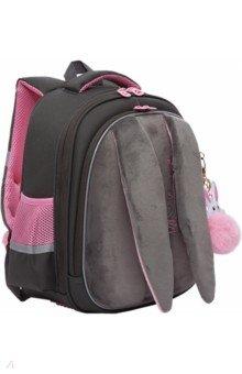 Купить Ранец школьный с брелком, для девочки (RAz-186-8), Grizzly, Ранцы и рюкзаки для начальной школы