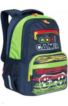 Купить Рюкзак школьный с карманом для ноутбука, для мальчика (RB-154-1), Grizzly, Ранцы и рюкзаки для начальной школы