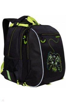 Купить Рюкзак школьный с мешком и карманом для ноутбука, для мальчиков (RB-158-2), Grizzly, Ранцы и рюкзаки для начальной школы