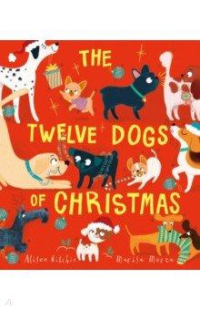 The Twelve Dogs of Christmas, Simon & Schuster UK, Первые книги малыша на английском языке  - купить со скидкой