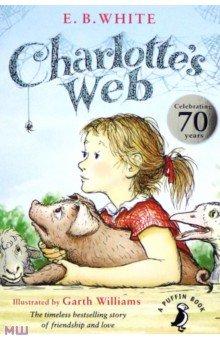 Купить Charlotte's Web, Puffin, Художественная литература для детей на англ.яз.