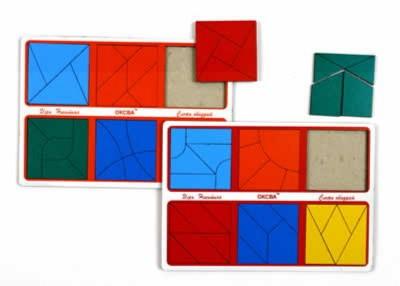 Иллюстрация 1 из 6 для Сложи квадрат: 3-ий уровень сложности (от 3 до 7 лет) | Лабиринт - игрушки. Источник: Лабиринт