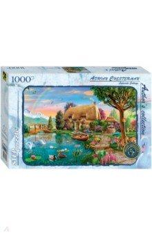 Купить Puzzle-1000 Коттедж на берегу (79551), Степ Пазл, Пазлы (1000 элементов)
