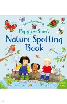 Poppy and Sam's Nature Spotting Book, Usborne, Первые книги малыша на английском языке  - купить со скидкой