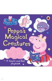 Купить Peppa Pig. Peppa's Magical Creatures. A touch-and-feel Playbook, Ladybird, Первые книги малыша на английском языке