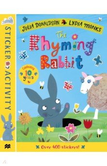Купить The Rhyming Rabbit. Sticker Book, Mac Children Books, Книги для детского досуга на английском языке