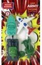 Обложка Набор ластиков 4шт ARMY M-6824