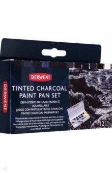 Набор красок Tinted Charcoal, 12 цветов.