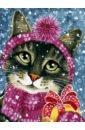 Обложка Живопись на холсте Канун Нового года,335-AS