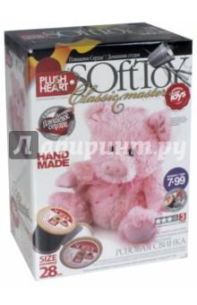 Мягкая игрушка: Свинка розовая (457010), Фантазер, Изготовление мягкой игрушки  - купить со скидкой