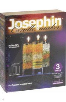 Гелевые свечи. Набор №5 (274005) фантазер josephine гелевые свечи с коллекционными морскими раковинами 4