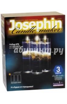 Гелевые свечи с ракушками. Набор №6 (274016)