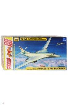 Купить 7002П/Российский бомбардировщик Ту-160, Звезда, Пластиковые модели: Авиатехника (1:72)