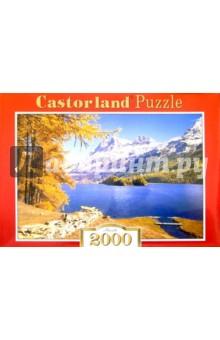 Puzzle-2000.С-200023.Горное озеро, Швейцария