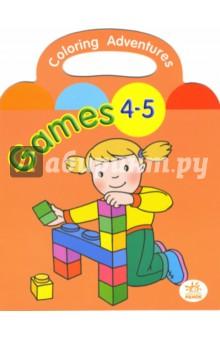 Раскраска: Games (4-5 лет)