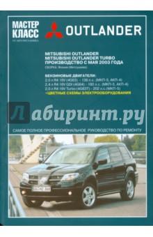 Руководство по эксплуатации Mitsubishi Outlander 3