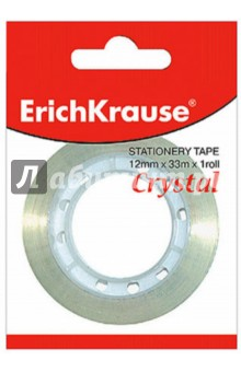 Купить Лента клейкая 12х33мм Crystal прозрачная (222298) ISBN: 4041485194408