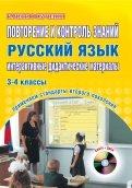 Светлана Маркова - Повторение и контроль знаний. Русский язык. 3-4 классы. Интерактивные дидактические материалы (+CD) обложка книги