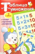 Иллюстрация 1 из 9 для Таблица умножения: плакат, карточки ...
