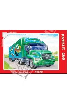 Купить Пазл, 260 элементов, Грузовой автомобиль: Ивеко (К-26003) ISBN: 4604293260033