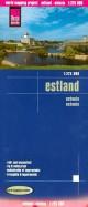 Эстония. Карта. 1:275 000