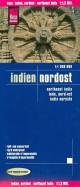 Indien. Nordost. 1:1 300 000
