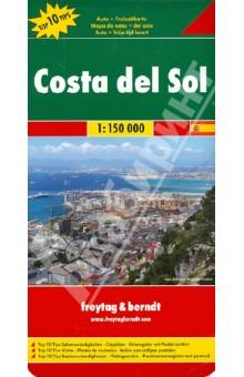 Costa del Sol. 1:150 000