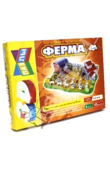 Купить Строим и играем. Ферма ISBN: 4607929335594