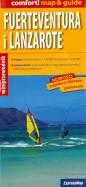 Fuerteventura i Lanzarote map & guide 1:150000