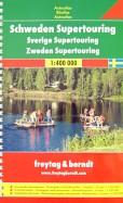 Sweden. Supetouring Road Atlas 1: 400 000