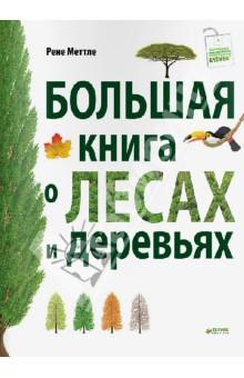 Рене Меттле - Большая книга о лесах и деревьях обложка книги