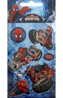 Купить Наклейки детские Marvel. 3D Человек-паук 1 (DsD04) ISBN: 4620751417726
