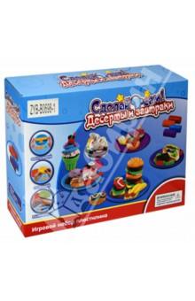 Купить Набор пластилина c инструментом для лепки Десертный завтрак (Д52970/ZYB-B0698-1) ISBN: 4602010366877