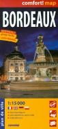 Бордо. Карта ламинированная 1: 15 000