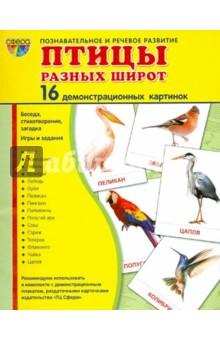 Демонстрационные картинки Птицы разных широт - Татьяна Цветкова