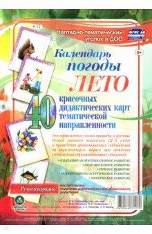 Купить Наглядно-тематический комплект. Календарь погоды. Лето ISBN: 4650066331172