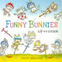 David Melling: Funny Bunnies: Up and Down (board book)