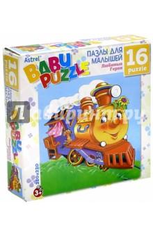 Купить Пазл 16А. Паровозик из Ромашково (11584) ISBN: 4606369115841