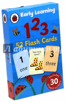 Купить 123 (52 flashcards) ISBN: 9781409302759