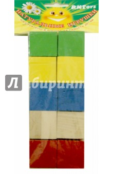 Купить Кубики цветные, 10 штук (Д-634)