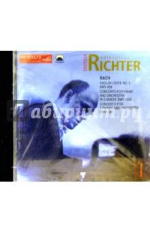 CD. Рихтер. Том :1 Бах - Святослав Рихтер