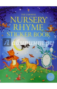 Nursery Rhyme Sticker Book - Caroline Hooper