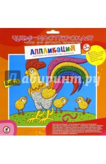Купить Картинка из разноцветных шариков Петушок и цыплята (2868) ISBN: 4607147374030