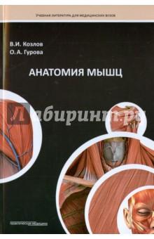 Анатомия мышц - Козлов, Гурова