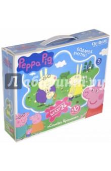 Купить Пазл-24 super-maxi Peppa Pig. Семья кроликов (01538) ISBN: 4680293015385