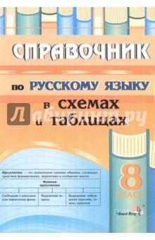 Русский язык. 8 класс. Справочник в схемах и таблицах