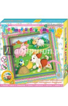 Купить Набор для детского творчества. Изготовление картины Лето в деревне (АБ 31-021) ISBN: 4607056495536